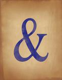 Ampersand Giclee Print by Jeanne Stevenson