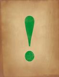 Exlamation Point Reproduction procédé giclée par Jeanne Stevenson