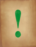 Exlamation Point Impression giclée par Jeanne Stevenson