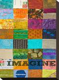 Imagine Stretched Canvas Print