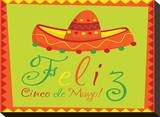 Feliz Cinco de Mayo Stretched Canvas Print