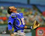 Salvador Perez 2011 Action Photo