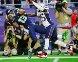 Chris Matthews Super Bowl XLIX Action Photo