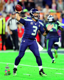 Russell Wilson Super Bowl XLIX Action Photo