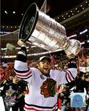 Kris Versteeg with the 2010 Stanley Cup Photo