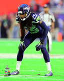 Richard Sherman Super Bowl XLIX Action Photo