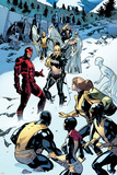 All-New X-Men No. 18: Pryde, Kitty, Beast, Grey, Jean, Cyclops, Iceman, Magik, Angel, Magneto Poster