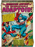 Marvel Comics Retro Style Guide: Captain America, Bucky Posters