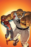Avenging Spider-Man Annual No. 1: Thing, Spider-Man Photo
