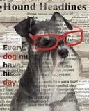 Hound Headline Poster by Conrad Knutsen