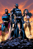 DC Comics - Justice League Trio Print