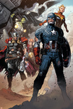 Infinity No. 6: Thor, Captain America, Hyperion, Hulk, Captain Marvel Affiches