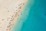 Top View of Beautiful Dreamy Beach Photographic Print by  Jag_cz