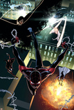 Ultimate Comics Spider-Man No. 27: Spider-Man, Cloak, Dagger, Spider-Woman, Baumgartner, Lana Posters
