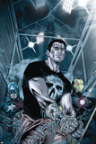 Punisher: War Zone No. 5: Punisher, Captain America, Iron Man Photo