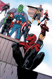 Superior Spider-Man Team-Up No. 1: Spider-Man, Captain America, Hulk, Black Widow, Thor, Hawkeye Posters