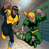 Ultimate Spider-Man Style Guide: Power Man, Iron Fist Posters