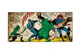 Marvel Comics Retro Style Guide: Karnak, Black Bolt, Medusa Art
