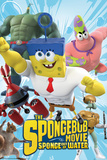 Spongebob Movie - Characters Posters