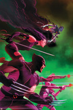 Uncanny X-Force No. 25: Wolverine, Psylocke, Deadpool, Nightcrawler, Fantomax Prints