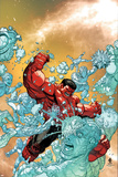 Wolverine and The X-Men No. 11: Iceman, Red Hulk Posters