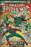 Marvel Comics Retro Style Guide: Spider-Man, Mysterio, Doctor Octopus, Falcon Prints