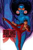 Deadly Hands of Kung Fu No. 2: Shang-Chi, Misty Knight, Wing, Colleen Poster