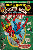 Marvel Comics Retro Style Guide: Spider-Man, Iron Man Poster