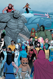 Young Avengers No. 12L: Striker, Prodigy, Finesse, Mercury, White Tiger, Troll, Rockslide, Anole Posters