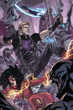 Avengers World No. 8: Hawkeye, Spider Woman, Nightmask Prints