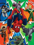 Ultimate SpiderMan - Sinister Art - Situational Art Posters