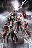 X-Men No. 1: Cyclops, Rogue, Frost, Emma, Colossus, Wolverine, Storm, Magneto, Archangel Posters