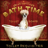 Bath Time Poster by Conrad Knutsen
