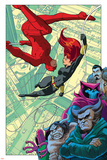 Daredevil No. 36: Daredevil, Black Widow, Kraven the Hunter, Owl, Man-Bull, Mr. Fear Poster