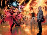 Avengers vs X-Men No. 11: Cyclops, Professor X, Dr. Strange, Cage, Luke, Storm, Thor Print