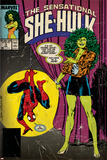 Marvel Comics Retro Style Guide: She-Hulk, Spider-Man Prints
