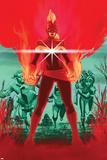 Captain Marvel No. 4: Captain Marvel, Jackie, Tic, Bee, Gil Print