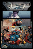 Avengers No. 16: Captain America, Black Widow, Hawkeye, Spider-Man, Wolverine, Shang-Chi, Thor Posters
