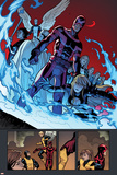 X-Men: Battle of the Atom No. 1: Cyclops, Magik, Stepford Cuckoos, Angel, Magneto, Tempus, Triage Posters