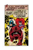 Marvel Comics Retro Style Guide: Black Bolt, Medusa, Lockjaw Posters