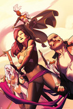Uncanny X-Force No. 2: Psylocke, Storm, Spiral, Puck, Cluster Prints