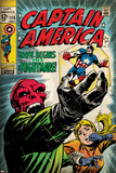 Marvel Comics Retro Style Guide: Captain America, Red Skull Poster
