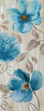 Blue Garden I Posters by Nan