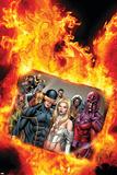 Uncanny X-Men No. 20: Cyclops, Frost, Emma, Magneto, Storm, Magik, Colossus- Print