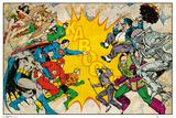 DC Comics - Heroes vs Villains Posters