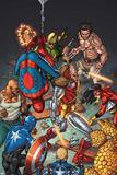 Wolverines Weapon X No. 15: Deathlok, Spider-Man, Wolverine, Iron Fist, Cage, Luke, Spider Woman Photo