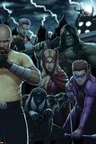 Dark Avengers No. 183: Toxie Doxie, Al Apaec, Trickshot, Skaar, Songbird, Cage, Luke Posters
