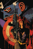 Captain America and Black Widow No. 636: Black Widow, Captain America Posters