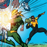 Ultimate Spider-Man Style Guide: Power Man, Iron Fist Print