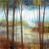 Soft Forest II Prints by Nan